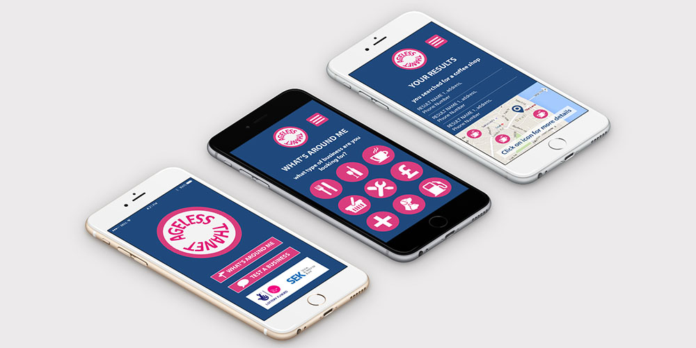 ageless thanet app design and development in kent